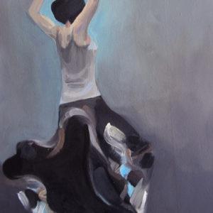 SIEBEN | 30 × 40 cm, Öl auf Leinwand, 2013