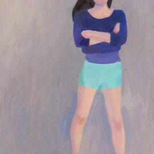 Franziska Guettler_LUCHTER III | 18 × 24 cm, Öl auf Leinwand, 2015