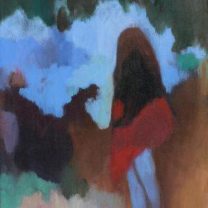 Franziska Guettler_MEMO | 30 × 24 cm, Öl auf Leinwand, 2016