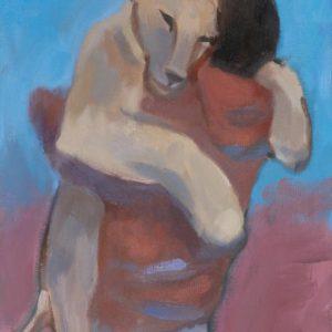 Franziska Guettler_IMMER | 30 × 24 cm, Öl auf Leinwand, 2016