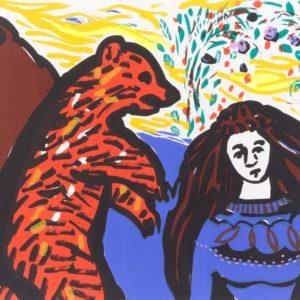Franziska Guettler_BITTE | 30 × 40 cm, Siebdruck, 2008