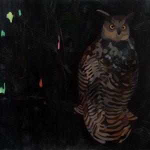 BUBOBUBO | 150 × 130 cm, Öl auf Leinwand, 2009