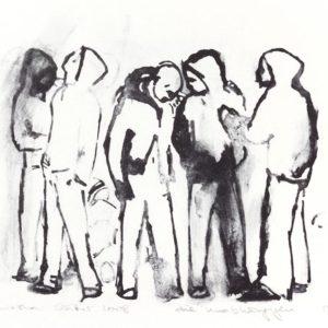 Franziska Guettler_DIE UNABHÄNGIGEN | Lithographie, 2008