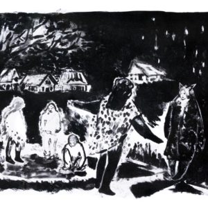 Franziska Guettler_ERZÄHLUNG | 31 × 40 cm, Lithographie, 2014