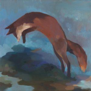 FLUR | 35 × 35 cm, Öl auf Leinwand, 2015