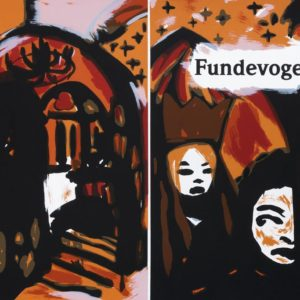 Fundevogel | Märchen der Gebrüder Grimm. Siebdruck, 8farbig. 40 × 30 cm. 2004
