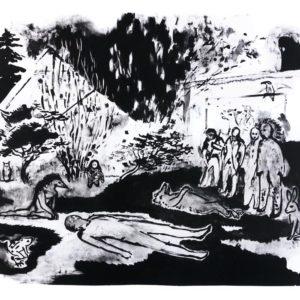 Franziska Guettler_Grosser Tag 48 × 64 cm, Lithographie, 2014