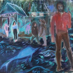 HALO | 180 x 160 cm, Öl auf Leinwand, 2016