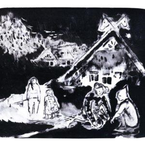 Franziska Guettler_LOS | 27 × 33 cm, Lithographie, 2014