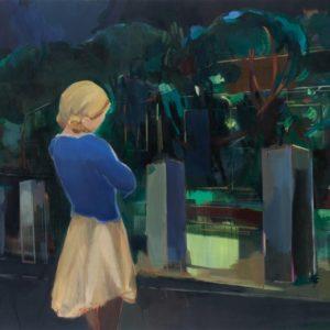 Nachtnacht 145 × 125 cm, Öl auf Leinwand, 2008