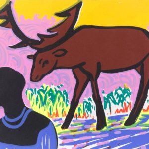 Franziska Guettler_NURSA | 30 × 40 cm, Siebdruck, 2008
