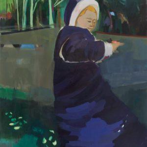 OHNE PFERD | 75 × 90 cm, Öl auf Leinwand, 2009
