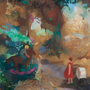 TWIZEL | 90 × 100 cm, Öl auf Leinwand, 2011