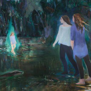 WEITER WEG | 180 x 200 cm, Öl auf Leinwand, 2016