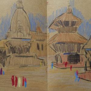 Franziska Guettler_kathmandula3_Zeichnung_2012