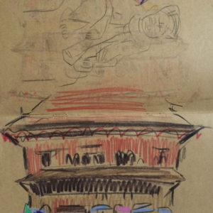 Franziska Guettler_kathmandula5_Zeichnung_2012