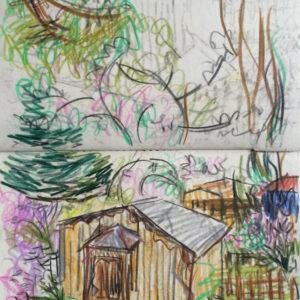 Franziska Guettler_SPRING 4 | Zeichnung, 2013
