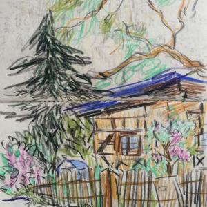Franziska Guettler_SPRING 2 | Zeichnung, 2013