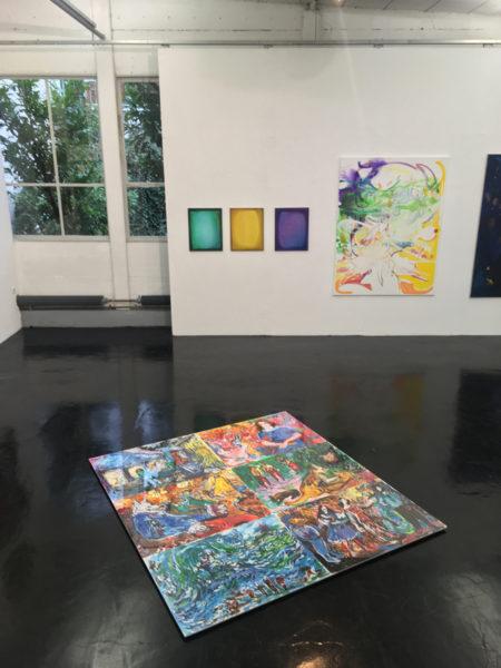 PAINTING XXL | MNW, Ausstellungshalle 1a, Frankfurt a.M., 2018