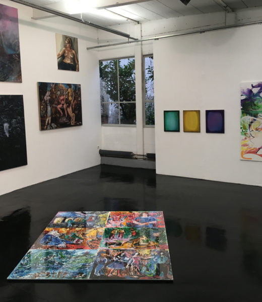 K_192x180 | PAINTING XXL | MNW, Ausstellungshalle 1a, Frankfurt a.M., 2018