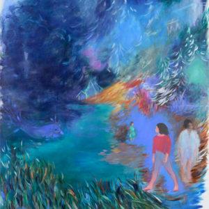 GRÖSSER ALS MOHN | 170 × 150 cm, Öl auf Leinwand, 2018