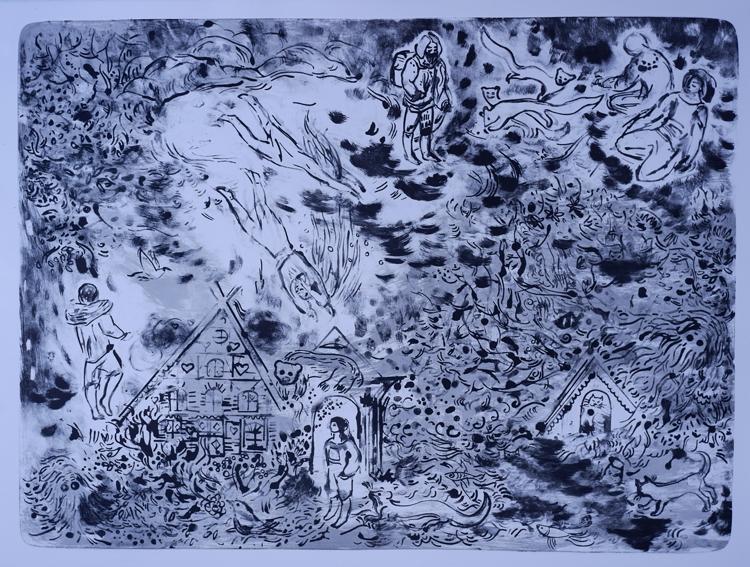 UNTERM SEE | 70 × 94 cm, Farblithographie, 2020